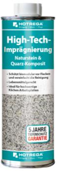 High-Tech-Imprägnierung Naturstein & Quarz-Komposit